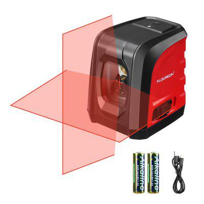 Floureon Cross Line Laser Level Self-Leveling Auto Horizontal Vertical