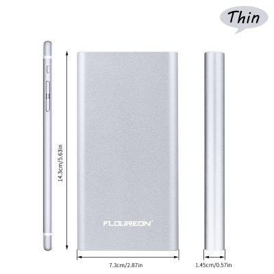 Floureon Pilot 12000mAh External Battery Charger with 3A High Speed Output for Phone
