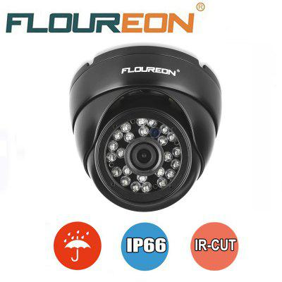 FLOUREON 1.0MP 1500TVL Vandalproof CCTV DVR Waterproof Security AHD Dome DVR Camera Night Vision