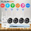 Floureon 4CH Wireless CCTV 1080P DVR KitSecurity Video Recorder NVR System UK