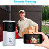 FLOUREON WIFI Video Doorbell Smart Doorbell 720P HD Security Camera With micro SD slot
