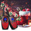 FLOUREON 22 canali Twin Walkie Talkies FRS o GMRS 462 a 467 MHZ 3KM Interphone Rosso Nero US