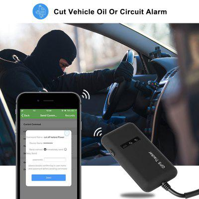 Car GPS Tracker GT02D Remote Cut off Fuel Relay GPS Tracker Car 2G Vehicle Tracking Shock Alarm