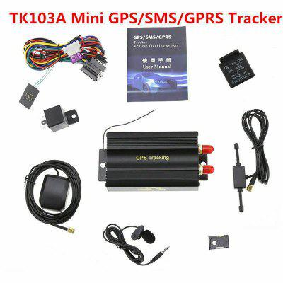 TK103A GPRS GSM SMS Vehicle Car GPS Tracker Locator Device Alarm System
