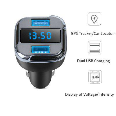Car GPS Locator Tracker Finder Real Time Tracking Adapter USB Charger Mobile APP