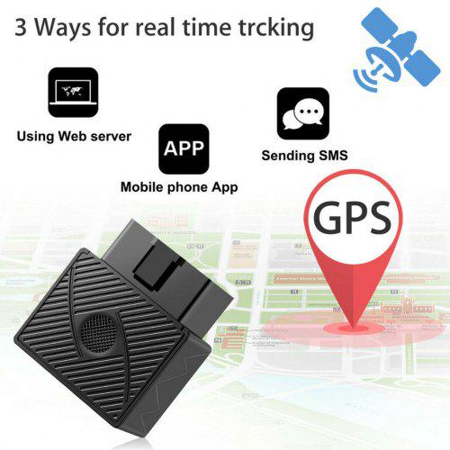 OBD 2 GPS Tracker Car Vehicle Real Time Tracking Device Spy System Locator Alarm