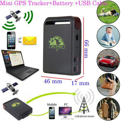 Mini Magnetic GPS Tracker Car Spy Bluetooth Real Time Tracking Locator Device