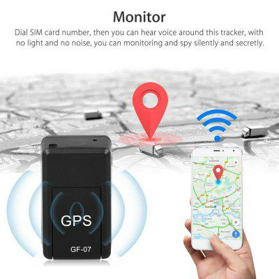 GF07 Mini Car GPS Tracker Real Time Locator Magnetic GSM GPRS Tracking Device