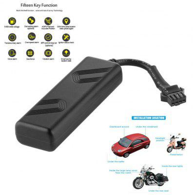 Car GPS Tracker Auto Motorcycle GSM Locator Relay Real-time Tracking