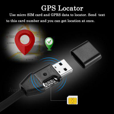 Vehicle Car GPS Tracker Locator Activity Tracking Alarm Devices Tracker USB Cable Charger GSM GPRS