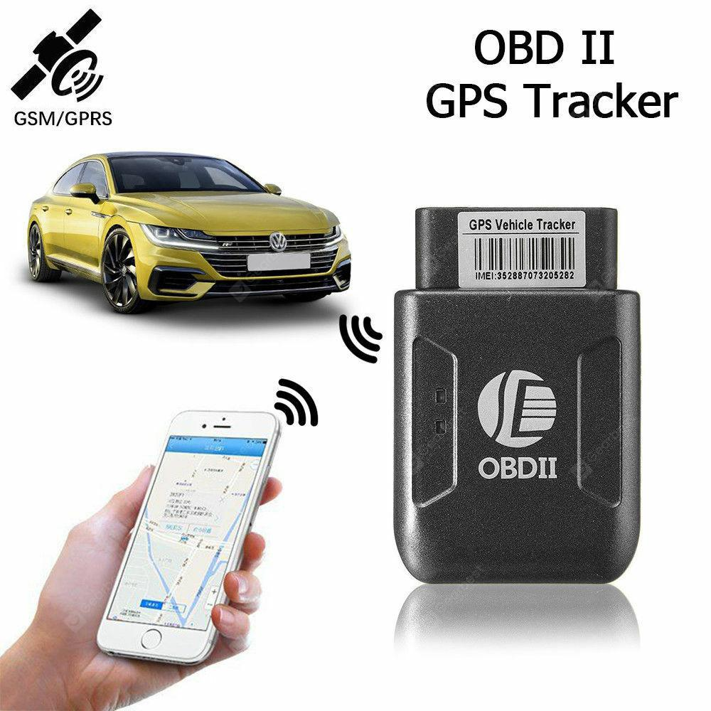 OBD II Real-time GPS GSM Tracker TK206 for Truck Vehicle Vibration alarm,No box