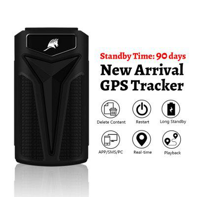 Car GPS Tracker 90 Days Standby 5000mAh SMS Real Time Tracking GPS Locator Vehicle Tracker