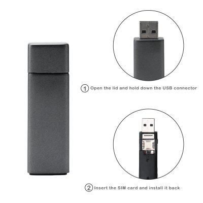 Mini Car WiFi GPS Tracker Flash Drive Monitor GSM GPS Tracking Device Real-time Positioning