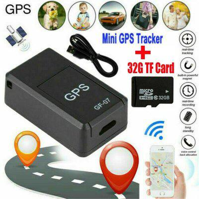 Mini Magnetic GPS Tracker Real-time Car Truck Vehicle Locator GSM GPRS 32GB Card