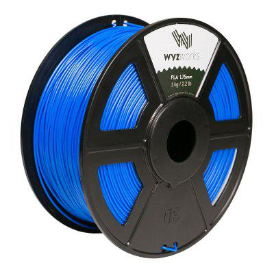 Blue PLA 1.75mm 3D Printer Premium Filament 1kg 2.2lb
