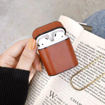 Leather Case For AirPods Headphones Cover Box For Apple Airpods Cover Soft Microfiber Hard Case