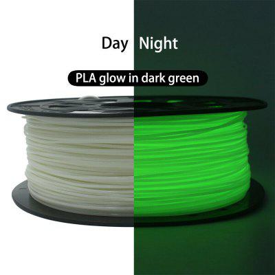 3D Printer Filament ST PLA 1.75mm 1kg Spool Glow in The Dark