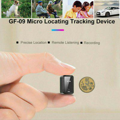 GF-09 Mini Real Time Car GPS Tracker Pet Anti-theft Locator Tracking GSM GPR