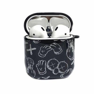 Anime Silicone Wireless Bluetooth Earphones Case For AirPods Headphones Box Cool Protective Cover