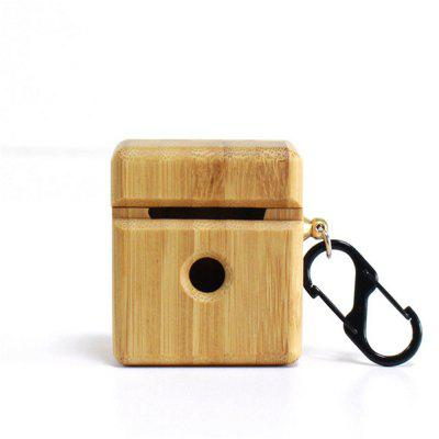 Wooden Case Cover with Keychain for Airpods Pro Holder Waterproof Best Replacement Accessories