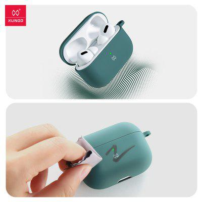 Shockproof Earphone Case For AirPods Pro Best Liquid Silicone Rubber Cover Holder Waterproof