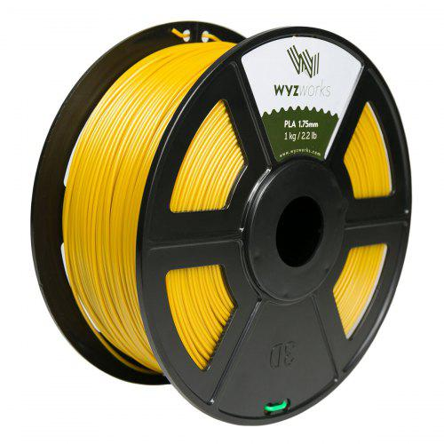 Light Grey PLA 1.75mm WYZworks 3D Printer Premium Filament 1kg//2.2lb