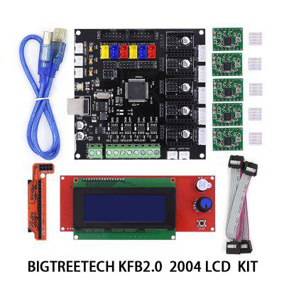 3D Printer Accessories Mainboard KFB2.0 Control Board Control Panel with 2004 LCD