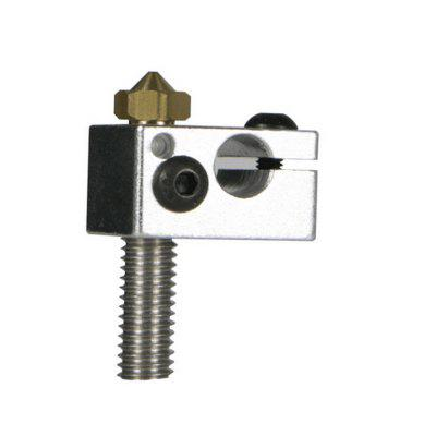 3D Printer Nozzle Suit Nozzle Throat with Heated Block for A5S A5
