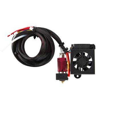Creality 3D Printer MK8 Extruder Hot End Kit 0.4mm Nozzle for Ender 3 3S