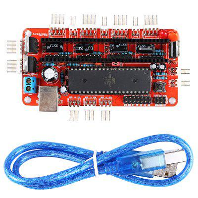 3D Printer Parts Control Mainboard For Sanguinololu Ver1.3A 3D printer Main Controller Panel