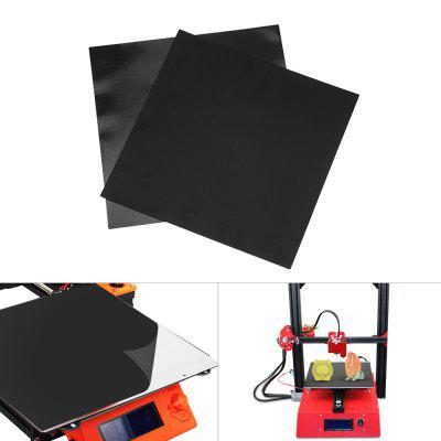 3D Printer Parts Print Bed Tape Sheet Magnetic Heat Bed Square Sticker Set 200 x 200mm
