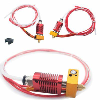 Extruder Heater Hot End Nozzle Spare Kit for Creality Ender 3 3 Pro 3D Printer