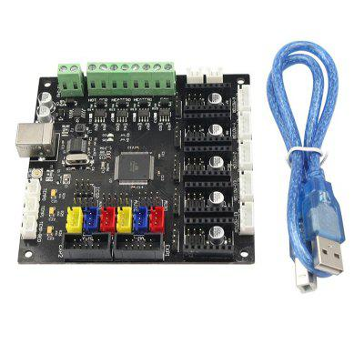 3D Printer Accessories KFB-2.0 Main Control Mainboard with ramps1.4 A4988