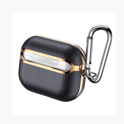 PU Leather Shockproof Best Waterproof Case Cover Holder for Airpods Pro with Keychain