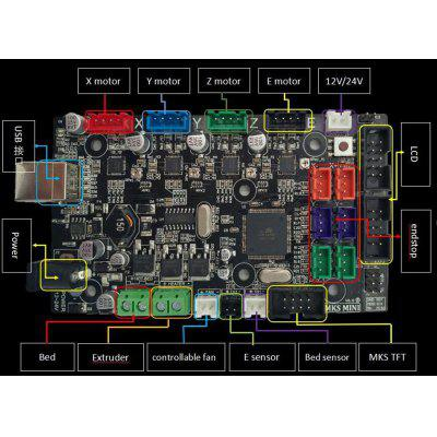 Best 3D Printer Parts Control Mainboard For MKS-MINI V2.0 3D printer DIY Main Board