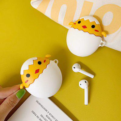 Funny Cute Little Yellow Chick Cover for Airpods 2 Wireless Charging Case