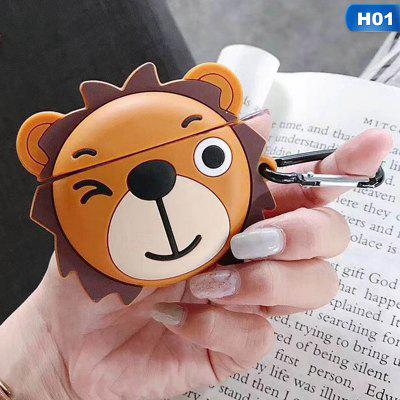 Cartoon Cute Anime Earphone Airpods Case For Airpods 1 2 Funny Protect Cover With Hook