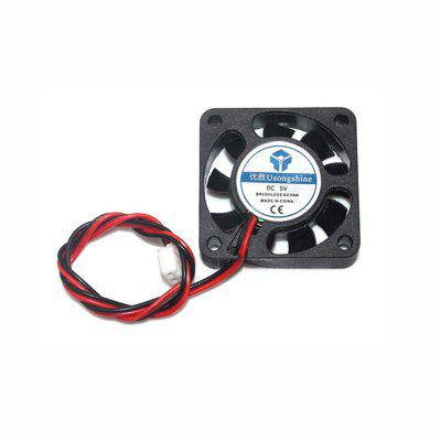 DC 5V Cooler Mini 4010 Mainboard Fan 40x40x10mm Small Cooling Fan for Ender 3 CR10 3D Printer