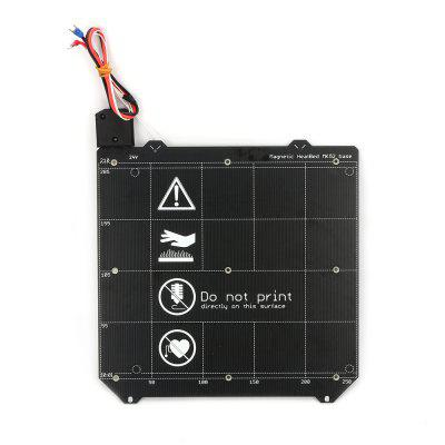 3D Printer Magnetic Heated Bed MK52 Heatbed 24v Wiring Thermistor with Magnet for Prusa i3 MK3 MK3S