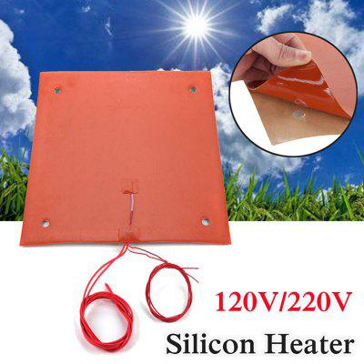 220V Flexible Waterproof Silicone Heated Bed Heating Heater Pad for CR-10 3D Printer