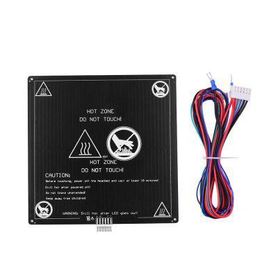 Aluminum 12V Hotbed Heated Bed with Wire Cable Heatbed Platform Kit for Anet A8 3D Printer Parts