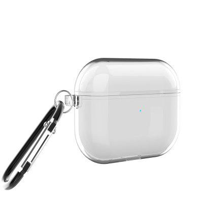Clear Transparent Cases for AirPods Pro with Keychain Hook Up For AirPods 3