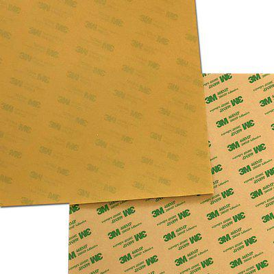 Replacement 0.125mm PEI Sheet Print Surface for Mk42 Heatbed with 3M 468MP Adhesive