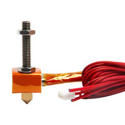 MK8 Extruder Hot End Kit Nozzle 0.3mm for 1.75mm Filament