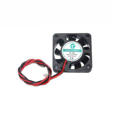 DC 12V Cooler Mini 4010 Mainboard Fan 40x40x10mm Small Cooling Fan for Ender 3 CR10 3D Printer