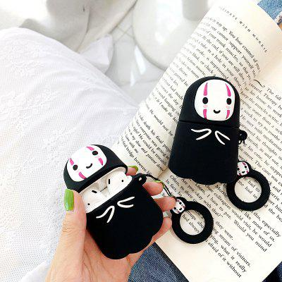 3D Funny Cartoon No Face Man Cute Cover for Airpods 2 Wireless Charging Case