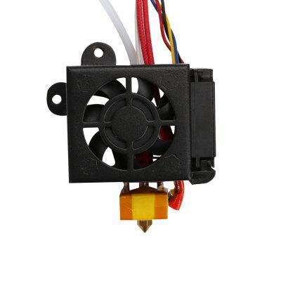 Full Assemble Nozzle Kit Creality 3D Printer Accessories With 2PCS Fans Hotend Kits For Ender 3