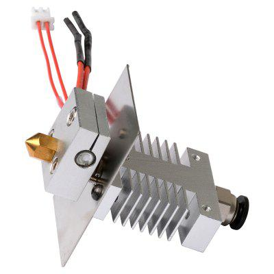 3D Printer Clogged Nozzle For A10 A20 Pro 3D Printer Avoid Clogging 1.75mm 0.4mm Nozzle Extruder