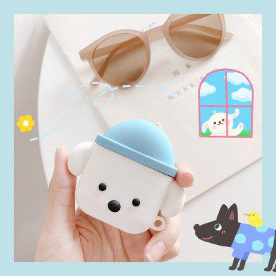 Cute dog-shaped Animal Funny Cover for Airpods 2 Charger Wireless Charging Case