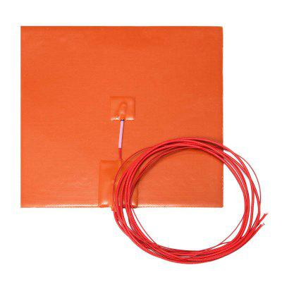 20 x 20cm Flexible Waterproof Silicon Heated Bed Heating Mat 200W for 3D Printer